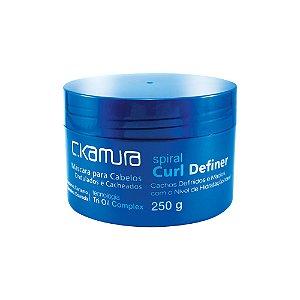 C.Kamura Spiral Curl Definer Máscara de Tratamento - 250g