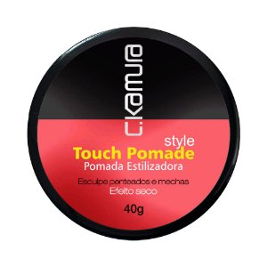 C.Kamura Touch Pomade Estilizadora - 40g