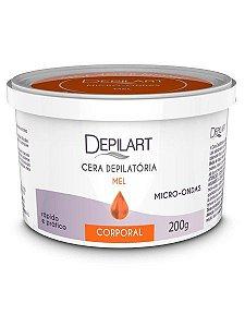 Depilart Cera Depilatória Micro-ondas - 200g - Mel