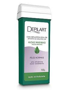 Depilart Cera Depilatória Roll-On com Algas Marinhas para peles normais Refil 100g