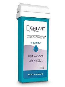 Depilart Cera Depilatória Roll-On com Azuleno para peles delicadas Refil 100g
