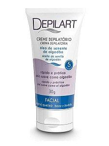 Depilart Creme Depilatório Facial com Óleo de Semente de Algodão 30g
