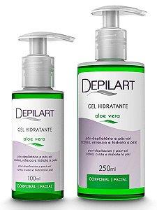 Depilart Gel Hidratante Pós-Depilação - 250ml - Aloe Vera
