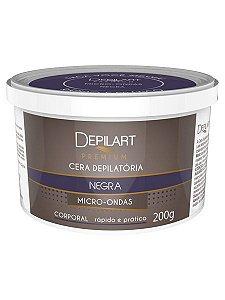 Depilart Premium Cera Depilatória Micro-ondas - 200g - Negra