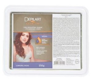 DEPILART Premium Cera Depilatória Quente Negra 250g