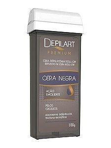 Depilart Premium Cera Depilatória Roll-On - 100g - Negra