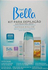 DEPIL BELLA Kit para Depilação Sistema Roll-on Bivolt