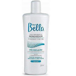 Depil Bella Óleo Hidratante Removedor Corporal e Facial com Óleo de Semente de Algodão 300ml