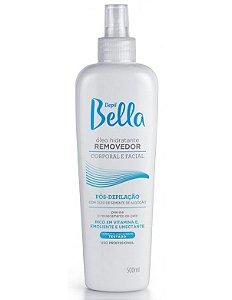 Depil Bella Óleo Hidratante Removedor Corporal e Facial com Óleo de Semente de Algodão 500ml