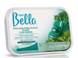 DEPIL BELLA Cera Depilatória Quente Algas com Menta 250g