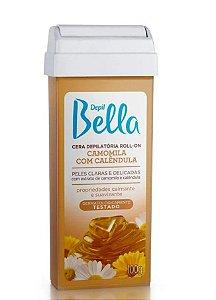 DEPIL BELLA Cera Depilatória Roll-on Camomila com Calêndula 100g