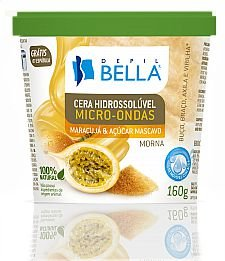 Depilbella Cera Hidrossolúvel Micro-ondas Maracujá - 300g