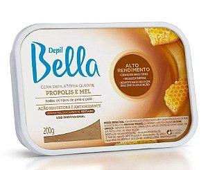 DEPIL BELLA Cera Depilatória Quente Propolis e Mel 200g