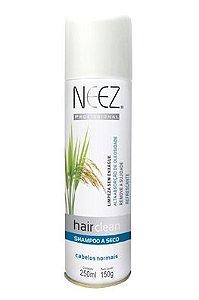 Neez Hair Clean Shampoo Seco Spray - Cabelos Secos - 250ml