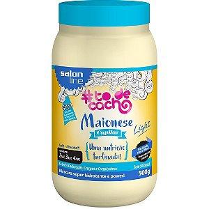SALON LINE #ToDeCacho Maionese Capilar Uma Nutrição Turbinada Light 500g