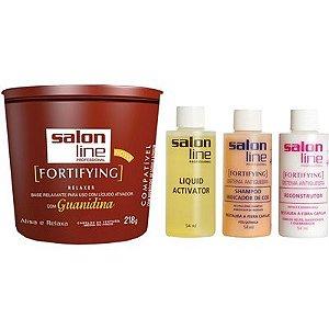 Salon Line Guanidina FortiFying - Regular Cabelos Médios ou Finos - 215g