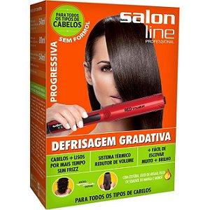 Salon Line Kit Defrisagem Gradativa Progressiva