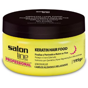 SALON LINE Professional Pomada Keratin Hair Food 195g