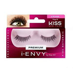 Kiss NY i.Envy Cílios Postíços Wispy 03 (KPE49BR)