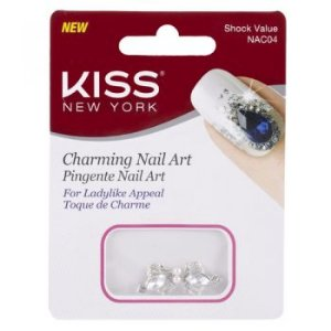 KISS NEW YORK Nail Art Pingente para Unhas Shock Value (NAC04)