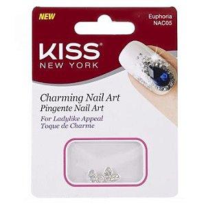 KISS NEW YORK Nail Art Pingente para Unhas Euphoria (NAC05)