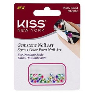 KISS NEW YORK Nail Art Strass para Unhas Pretty Smart (NACS05)