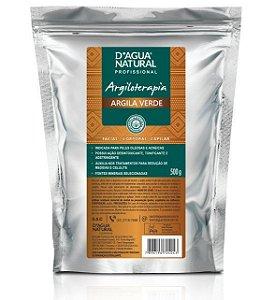 D'ÁGUA NATURAL Argiloterapia Creme de Argila Verde 500g