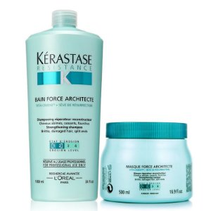 Kérastase Resistance Force Architecte Kit Bain 1L + Masque 500g