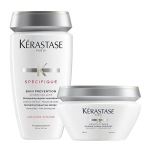 Kérastase Spécifique Kit Cabelo c/Queda Bain Prevention 250ml + Masque Hydra-Apaisant 200ml