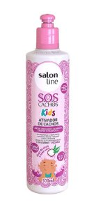 SALON LINE SOS Cachos Kids Ativador de Cachos Vegano 300ml