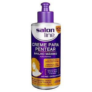 Salon Line Creme de Pentear Brilho Máximo - 250ml