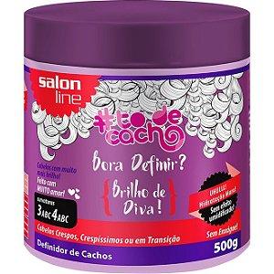 Salon Line #TODECACHO Definidor de Cachos Brilho Vida - 500g