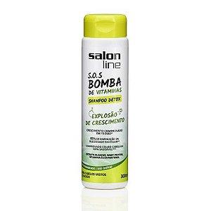 Salon Line SOS Bomba Shampoo Detox 300ml