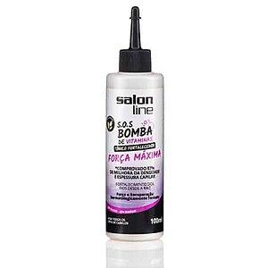 Salon Line SOS Bomba Tônico Fortalecimento Força Máxima 100ml