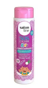 SALON LINE SOS Cachos Kids Condicionador Vegano 300ml