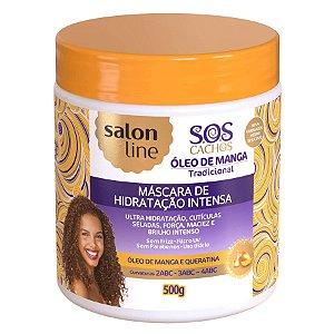 Salon Line SOS Cachos Óleo Manga Máscara de Hidratação Intensiva 500g