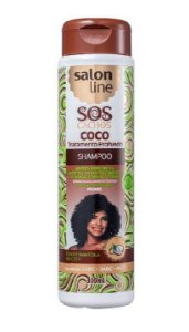 SALON LINE SOS Cachos Coco Shampoo Vegano 300ml