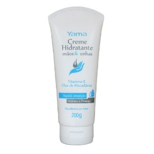 Yamá Creme Hidratante Mãos e Unhas com Silicone - 200g