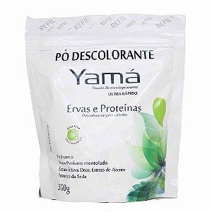 YAMÁ Pó Descolorante Ervas e Proteínas Refil 300g