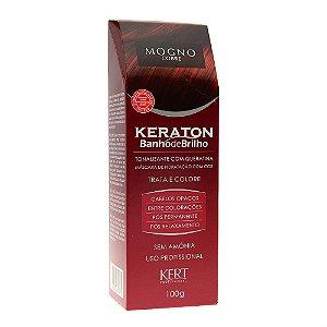 Kert Keraton Tonalizante Banho de Brilho - Mogno - 100g