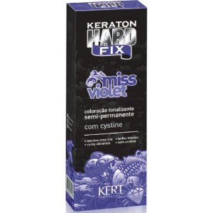 Kert Keraton Tonalizante Hard Colors Fix - Miss Violet - 100g