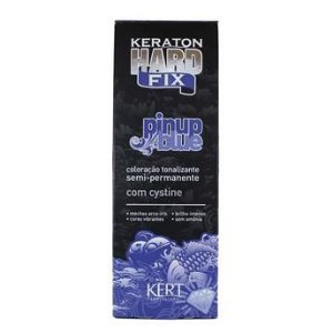 Kert Keraton Tonalizante Hard Colors Fix - Pinup Blue - 100g