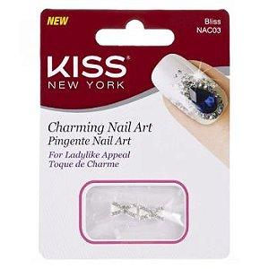 Kiss NY Nail Art Pingente para Unhas Bliss (NAC03)
