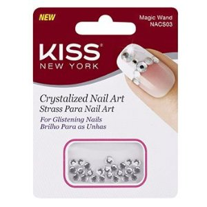 KISS NEW YORK Nail Art Strass para Unhas Magic Wand (NACS03)