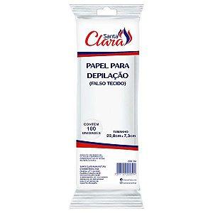 SANTA CLARA Papel para Depilação (falso tecido) 100un (250)