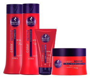 Haskell Color Revive Kit Completo (4 Produtos)
