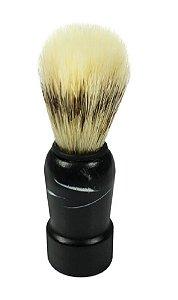 SANTA CLARA Pincel para Barbear de Pelo Misto e Cabo de Madeira Importado (671)