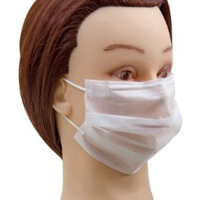 Santa Clara Máscara Descartável Não Tecido com Elástico 50un (802)