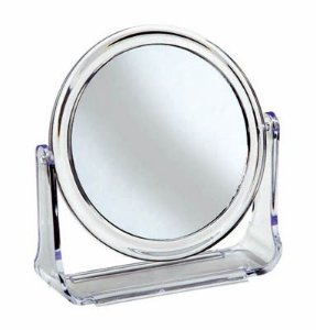 Santa Clara Espelho Emoldurado Médio Duplo para Bancada(988)