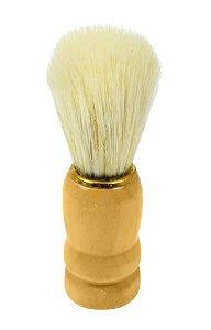 SANTA CLARA Pincel para Barbear Luxo com Pelo Misto com Cabo em Madeira importado (1249)
